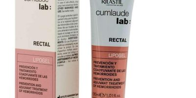 Cumlaude Rilastil Lipogel Rectal 30ml - Anti-Inflammatory And Soothing Effect - Hemroid Treatment - Prevention