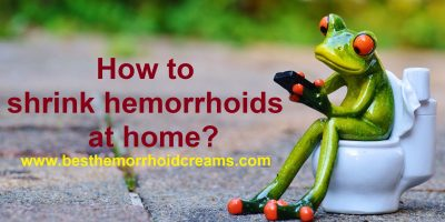 shrink hemorrhoids at home