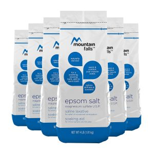epsom salt bath benefits for hemorrhoids. Mountain Falls Epsom Salt Magnesium Sulfate review for sitz bath.