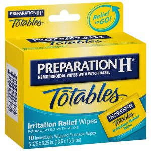 Preparation H Totables Irritation Relief Wipes review