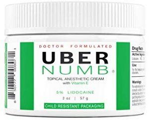 Uber Numb hemorrhoid cream review