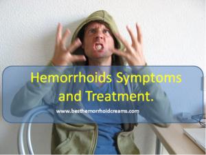hemorrhoids treatment and symptoms