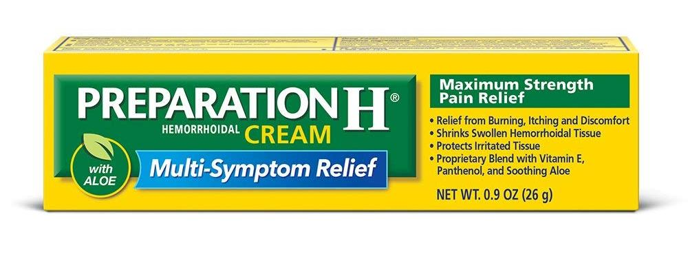 preparation h hemorrhoid cream